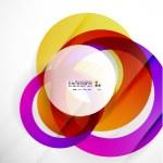 Modern colorful abstract circles — Stock Vector #29271713