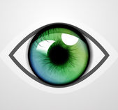 Vector eye — Stock Vector