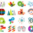 Set of modern infographic design templates — Stock Vector #30848153