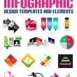 Set of modern infographic banners design templates — Stock Vector #31851273