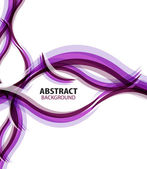 Purple waves modern business abstract background — Stok Vektör