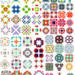 Set of abstract geometric icons / shapes — Stock Vector #35193575