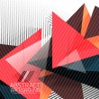Abstract geometric shape background — Vector de stock #35257175