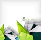 Geometryczne kształty streszczenie tło — Wektor stockowy