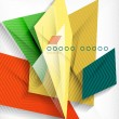 Stok Vektör: Business geometric shape abstract background