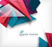 Business geometric shape abstract background — Vecteur
