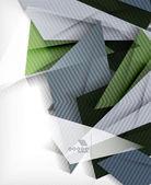 Fondo abstracto de negocios forma geométrica — Vector de stock
