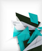 Business geometric shape abstract background — Vector de stock
