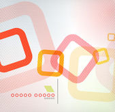 Abstract background geometric square shape — Stockvector