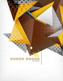 Geometric shape triangle abstract background — Vetorial Stock