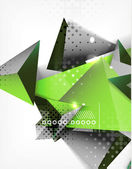 Geometric shape triangle abstract background — Vettoriale Stock