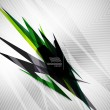 Stock vektor: Geometric shape line lightning business background