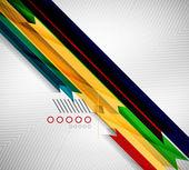 Geometric shape straight stripes background — Vetorial Stock