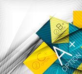 абстрактный фон бизнес презентации полосы — Cтоковый вектор