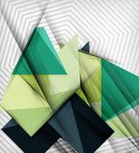 Geometrik vektör arka plan — Stok Vektör