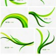 Mega set of spring abstract backgrounds — Stock Vector