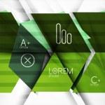 Blocks geometric abstract background — Stock Vector #43979679