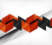 Vector fondo de diseño geométrico de negocios — Vector de stock