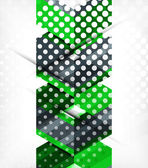 Abstract business geometric pattern — Stock vektor