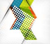 幾何学模様の抽象的なビジネス — ストックベクタ