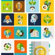 Nature ecology concepts collection — Stock Vector #44087053