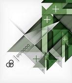 Modèle géométrique pour la brochure | livret — Vecteur