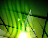 Futuristic abstract blurred flares and colors — Vector de stock