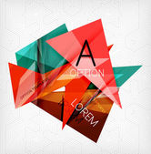 Infographic abstract background — Stock Vector