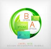 圈 web 设计泡沫 |图表元素 — 图库矢量图片
