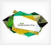 Geometrical unusual pattern — Stock Vector