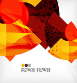 Abstract geometric shapes background — Cтоковый вектор