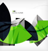Modern futuristic techno abstract composition — Cтоковый вектор