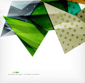 Futuristic shapes vector abstract background — Vecteur