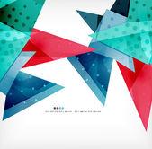 几何形状抽象未来派背景 — 图库矢量图片