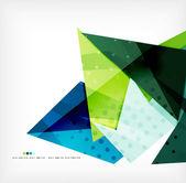 геометрическая форма абстрактного футуристический фон — Cтоковый вектор