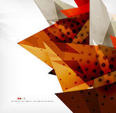Futuristic shapes vector abstract background — Wektor stockowy