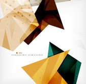Futuristic shapes vector abstract background — 图库矢量图片