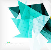 Abstract sharp angles background — Stock Vector