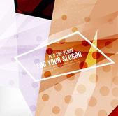 Nowoczesne 3d błyszczący nakładających się trójkąty — Wektor stockowy