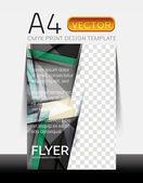 Vektor moderna flyer design — Stockvektor