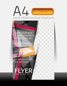 Vektor moderne Flyer design — Stockvektor