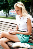 Vrouwelijke student — Stockfoto