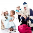 Visit Santa Claus — Stock Photo #13030319