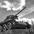 T-34 tank - Stock Photo