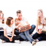 Happy Family — Stock Photo #18541185