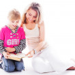 Mother and daughter — Stock Photo #18671327