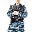 SWAT officer - Stock Photo