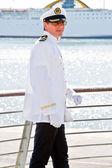 Sea captain — Stock Photo