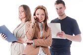 Team of business people — Stock Photo