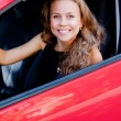 Woman in the car — Stock Photo #37046969
